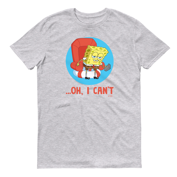 SpongeBob SquarePants Oh, I Can't Meme Adult Short Sleeve T-Shirt