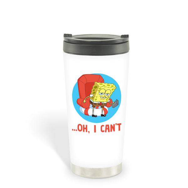 SpongeBob SquarePants Oh, I Can't Meme 16 oz Stainless Steel Thermal Travel Mug