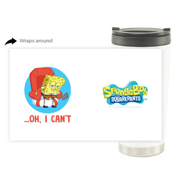 SpongeBob SquarePants Oh, I Can't Meme 16 oz Stainless Steel Thermal Travel Mug - SpongeBob SquarePants Official Shop