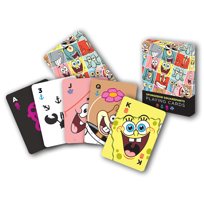 SpongeBob SquarePants Playing Card Deck - SpongeBob SquarePants Official Shop