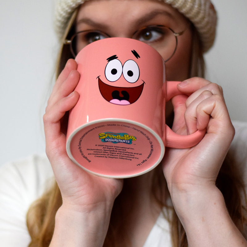 Patrick Big Face Jumbo 20 oz Coffee Mug - SpongeBob SquarePants Official Shop