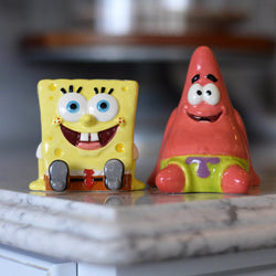 SpongeBob SquarePants and Patrick Salt and Pepper Shaker - SpongeBob SquarePants Official Shop