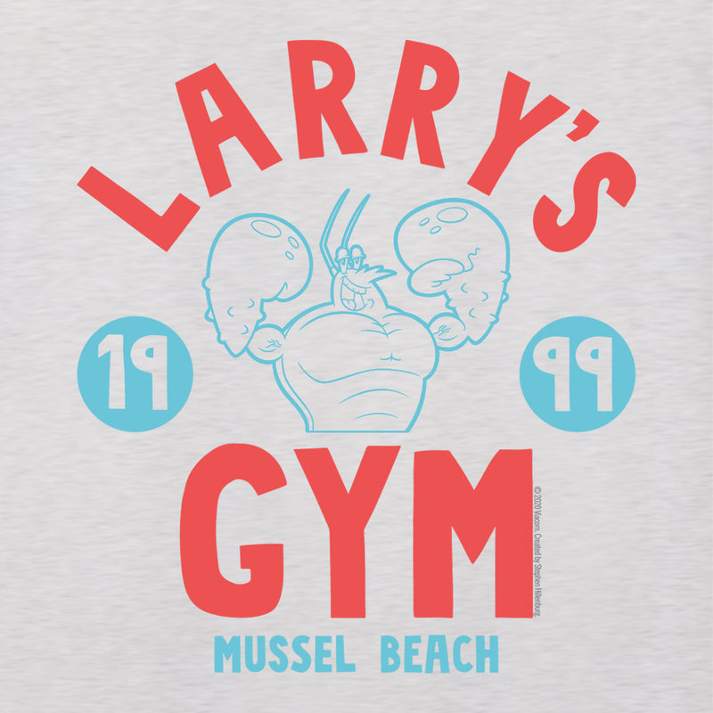 SpongeBob SquarePants Larry's Gym 1999 Women's Tri-Blend Racerback Tank Top