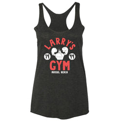 SpongeBob SquarePants Larry's Gym 1999 Women's Tri-Blend Racerback Tank Top - SpongeBob SquarePants Official Shop