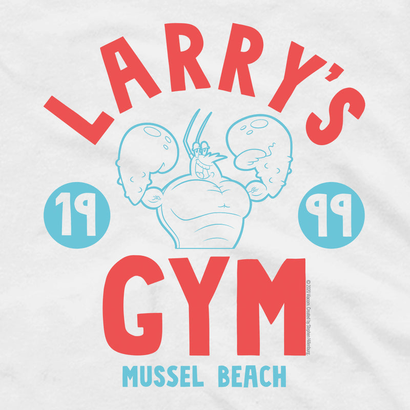 SpongeBob SquarePants Larry's Gym 1999 Adult Tank Top