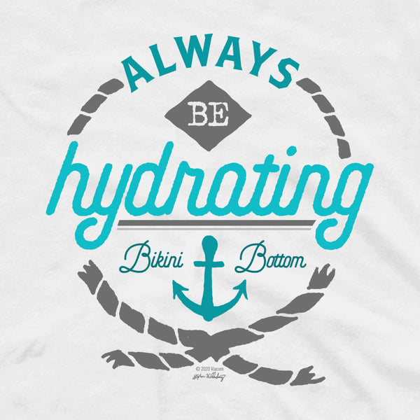 "SpongeBob SquarePants ""Always Be Hydrating"" Adult Tank Top"