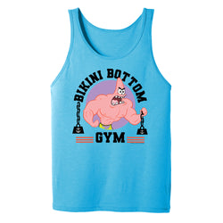 SpongeBob SquarePants Patrick Bikini Bottom Gym Adult Tank Top