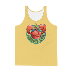 SpongeBob SquarePants Larry's Gym Adult All-Over Print Tank Top