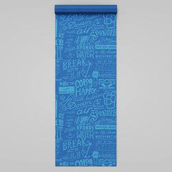 SpongeBob SquarePants Nautical Nonsense Yoga Mat - SpongeBob SquarePants Official Shop