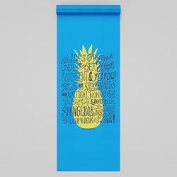 SpongeBob SquarePants Pineapple Yoga Mat - SpongeBob SquarePants Official Shop