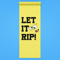 SpongeBob SquarePants Let It Rip Yoga Mat - SpongeBob SquarePants Official Shop