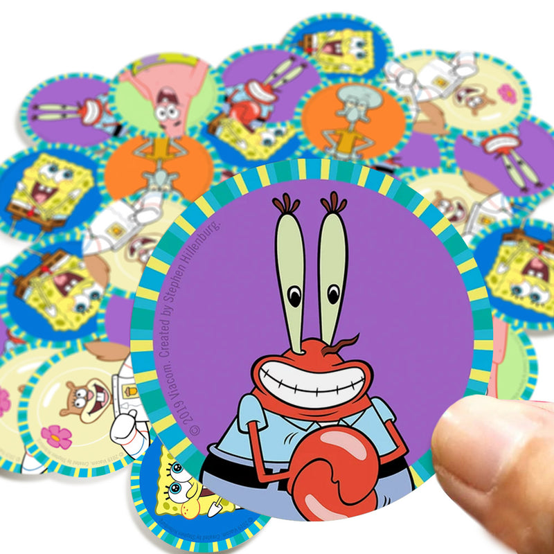 Mr. Krabs Stickers - SpongeBob SquarePants Official Shop