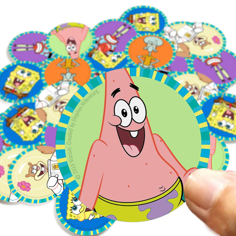 Patrick Stickers - SpongeBob SquarePants Official Shop