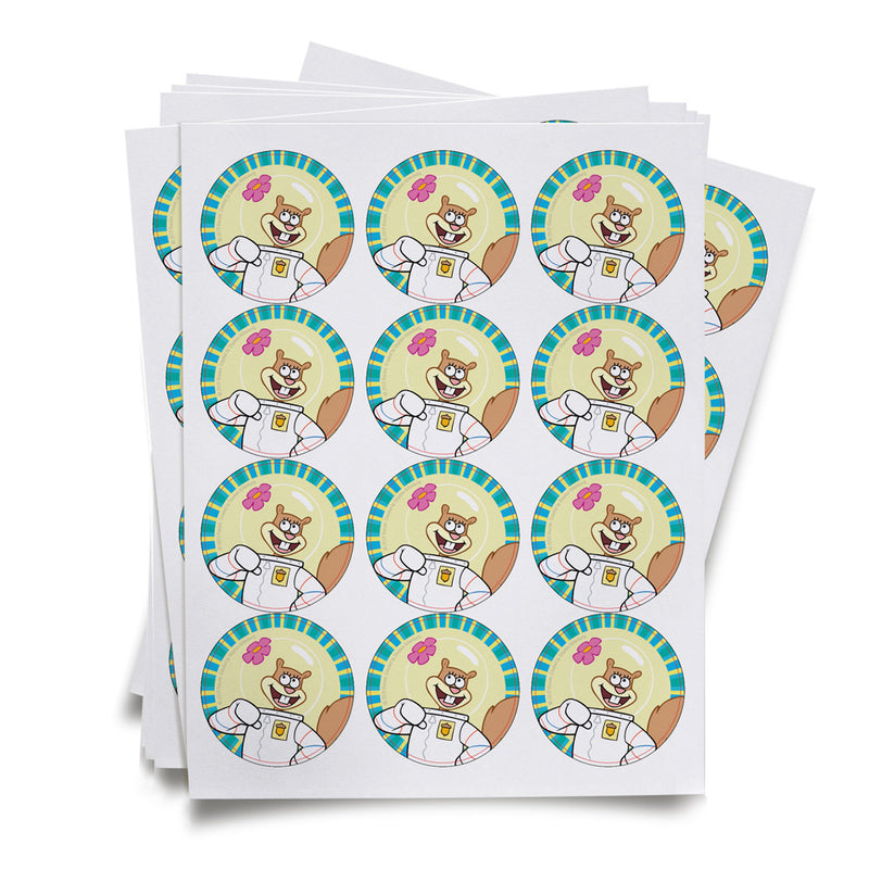Sandy Stickers - SpongeBob SquarePants Official Shop
