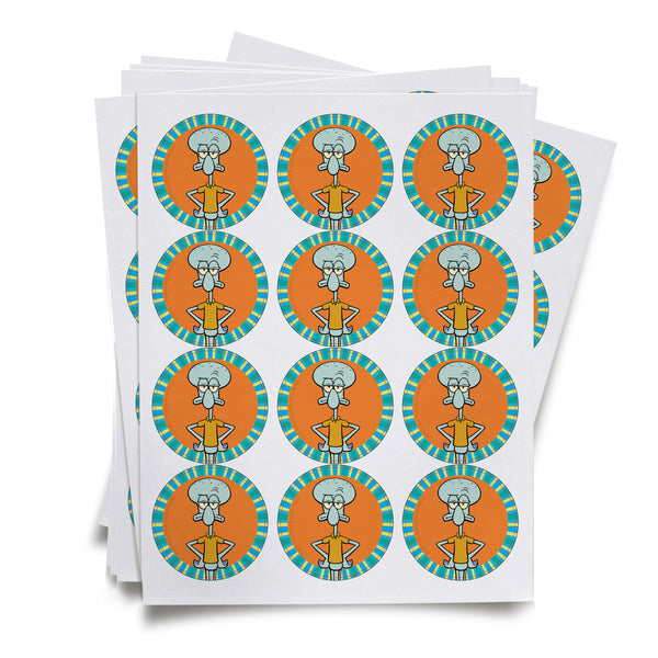 Squidward Stickers - SpongeBob SquarePants Official Shop
