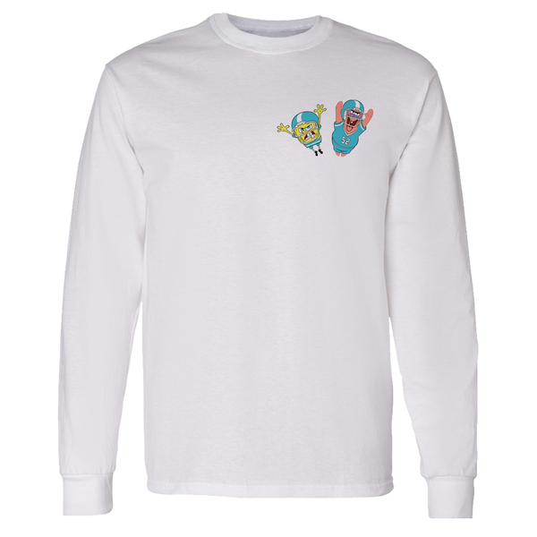 SpongeBob SquarePants Bikini Bottom Feeders Adult Long Sleeve T-Shirt