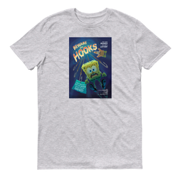 SpongeBob SquarePants Beware the Hooks Adult Short Sleeve T-Shirt - SpongeBob SquarePants Official Shop