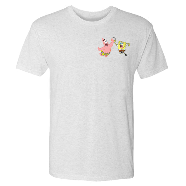 SpongeBob SquarePants Do Stuff Together Men's Tri-Blend T-Shirt - SpongeBob SquarePants Official Shop