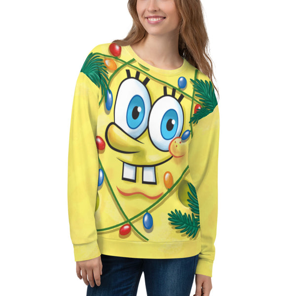 SpongeBob Holiday Festive Crew Neck Sweatshirt - SpongeBob SquarePants Official Shop