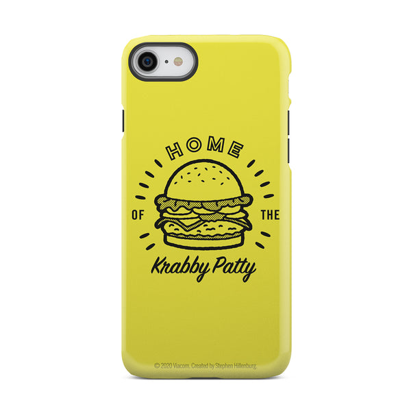 The Krusty Krab Home of the Krabby Patty Tough Phone Case - SpongeBob SquarePants Official Shop