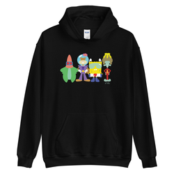 SpongeBob SquarePants Justice League Hooded Sweatshirt
