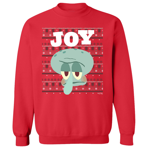 SpongeBob Joy Fleece Crew Neck Sweatshirt - SpongeBob SquarePants Official Shop