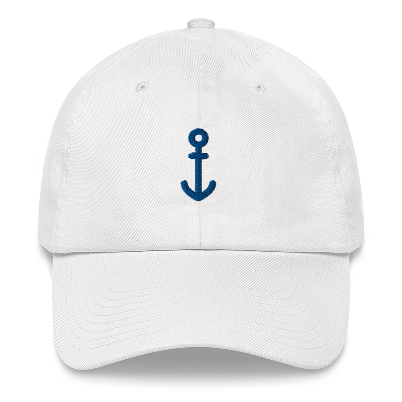 The Krusty Krab Anchor Embroidered Hat - SpongeBob SquarePants Official Shop