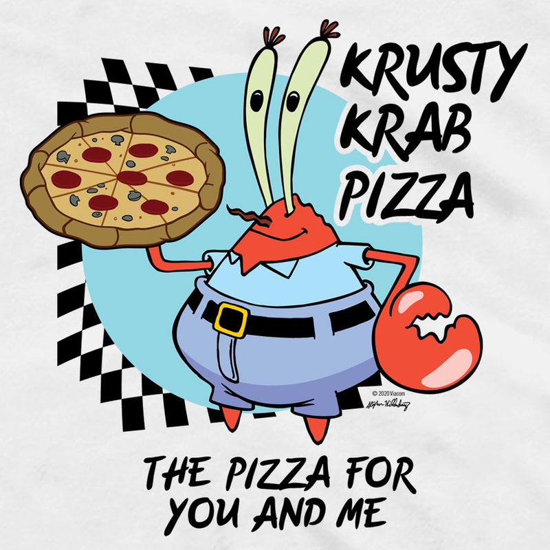 SpongeBob SquarePants The Krusty Krab Pizza Unisex Tank Top - SpongeBob SquarePants Official Shop