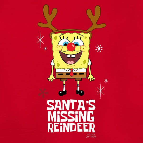 SpongeBob Santa's Missing Reindeer Women's Tri-Blend T-Shirt