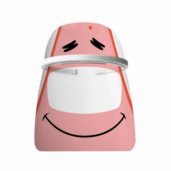 Patrick Big Face Shield and Halo Bundle - SpongeBob SquarePants Official Shop