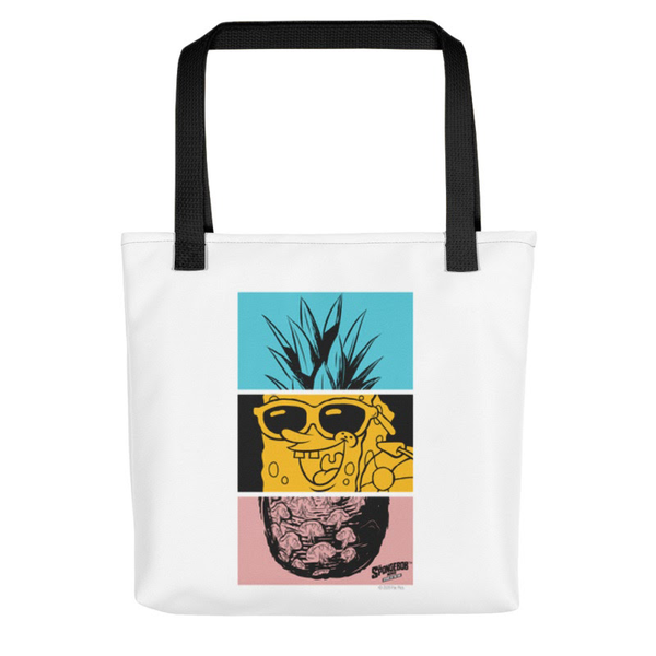 SpongeBob SquarePants Sponge on the Run Feelin' Fineapple  Premium Tote Bag