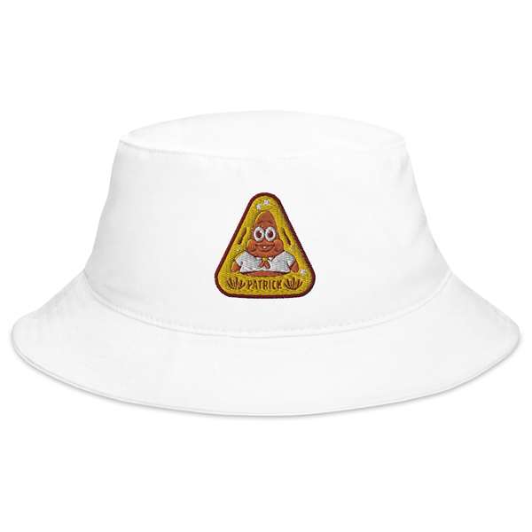 SpongeBob SquarePants Sponge on the Run Patrick Badge Flexfit Bucket Hat