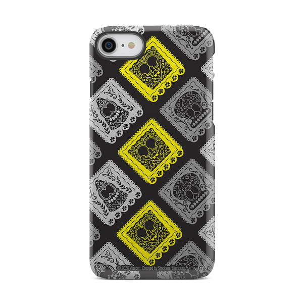 SpongeBob SquarePants Day of the Dead Reduced Color Pattern Tough Phone Case - SpongeBob SquarePants Official Shop