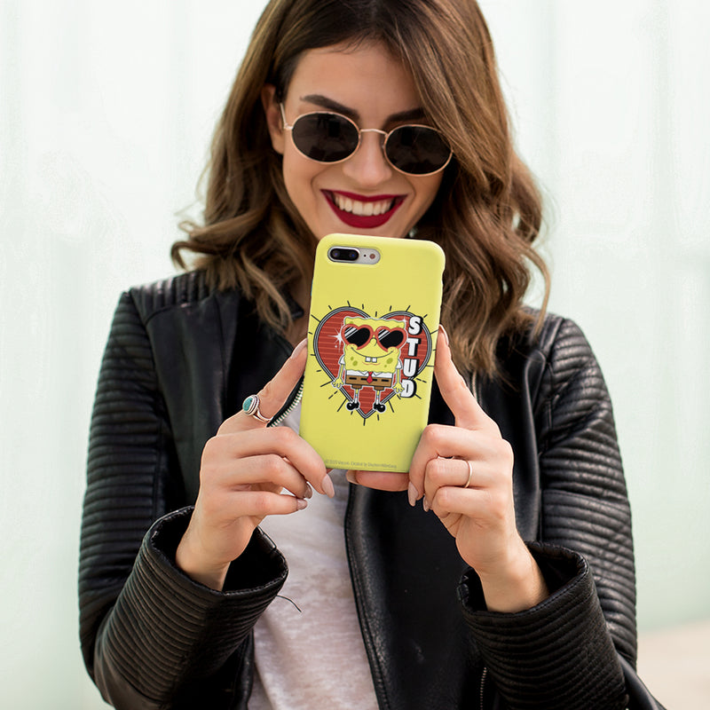 SpongeBob SquarePants Heart Sunglasses Stud Tough Phone Case