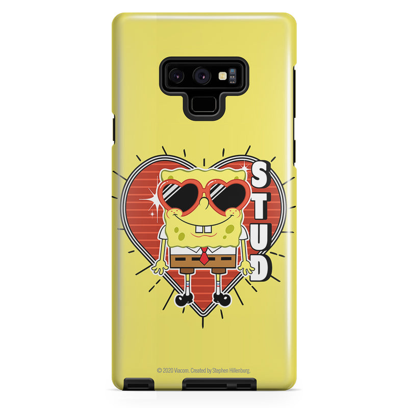 SpongeBob SquarePants Heart Sunglasses Stud Tough Phone Case - SpongeBob SquarePants Official Shop