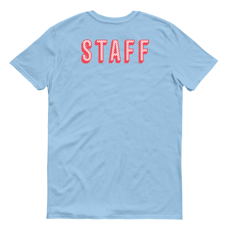 The Krusty Krab Staff Adult Short Sleeve T-Shirt - SpongeBob SquarePants Official Shop