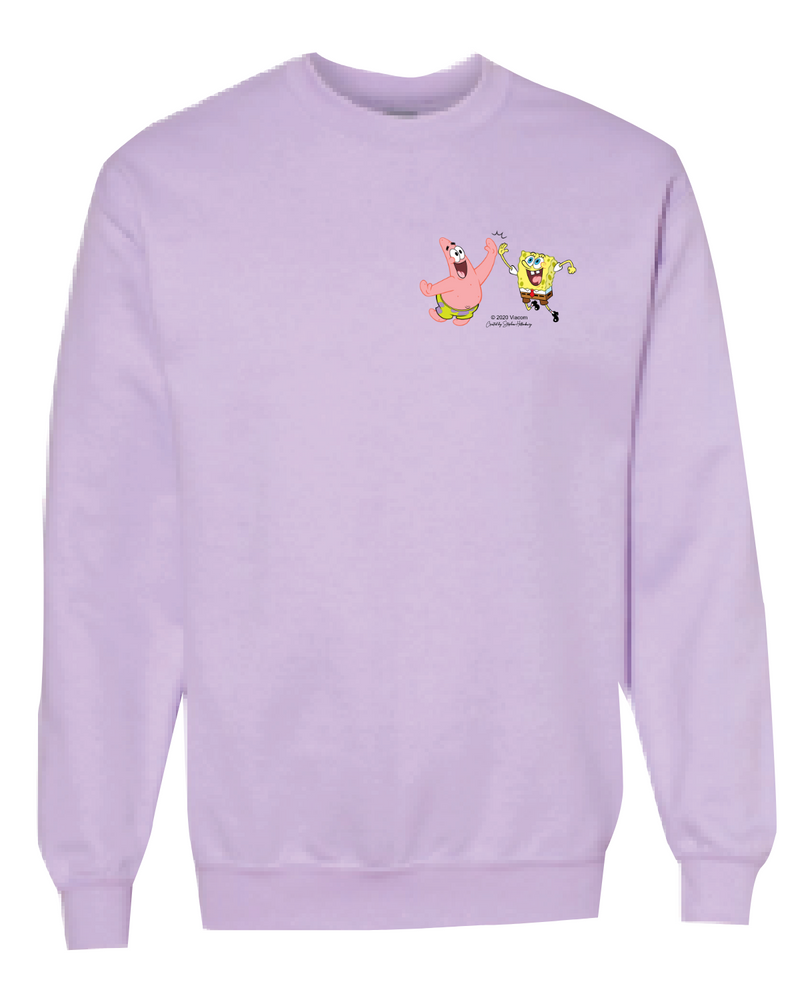 SpongeBob SquarePants Do Stuff Together Crew Neck Sweatshirt - SpongeBob SquarePants Official Shop