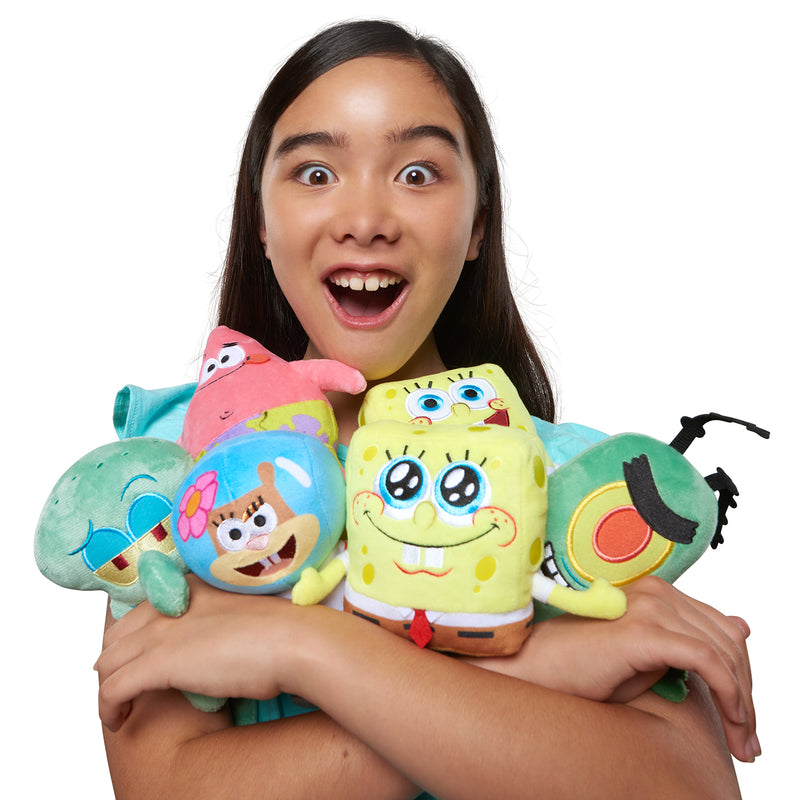 SpongeBob SquarePants WE Charity Mini Plush - Assorted Characters - SpongeBob SquarePants Official Shop