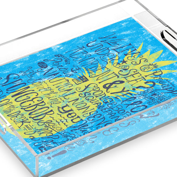 SpongeBob SquarePants Pineapple Acrylic Tray - SpongeBob SquarePants Official Shop