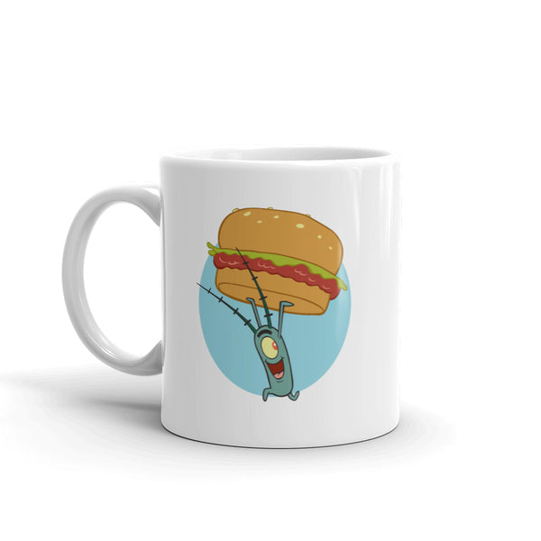 The Krusty Krab Krabby Patties White Mug