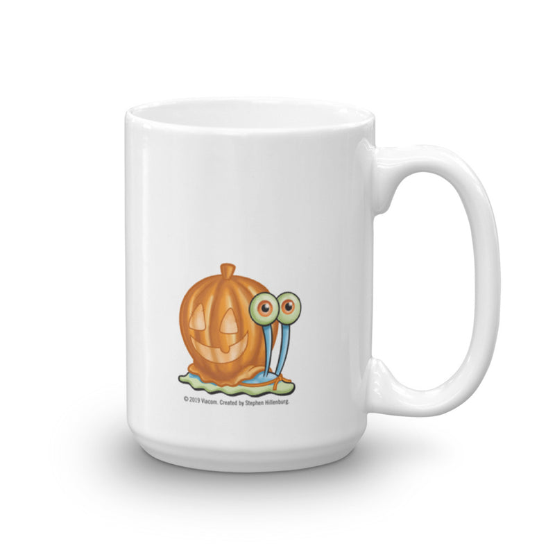 SpongeBob and Gary Halloween White Mug - SpongeBob SquarePants Official Shop