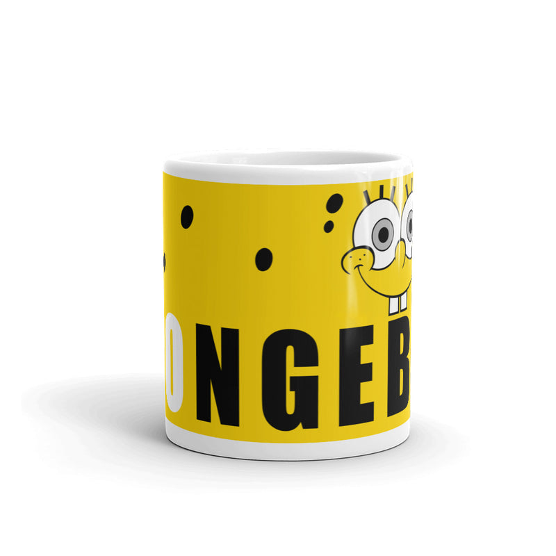 SpongeBob SquarePants 11 oz Mug - SpongeBob SquarePants Official Shop