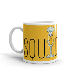 Squidward Name Play 11 oz White Mug - SpongeBob SquarePants Official Shop
