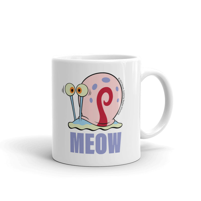 Gary Meow White Mug - SpongeBob SquarePants Official Shop