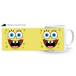 SpongeBob SquarePants Yellow Big Face 11 oz Mug