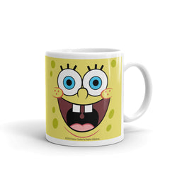 SpongeBob SquarePants Yellow Big Face 11 oz Mug - SpongeBob SquarePants Official Shop