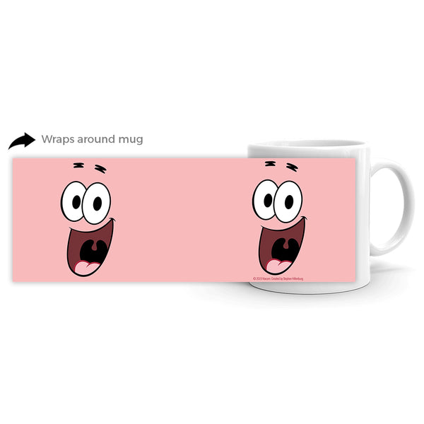 Patrick Big Face 11 oz Mug