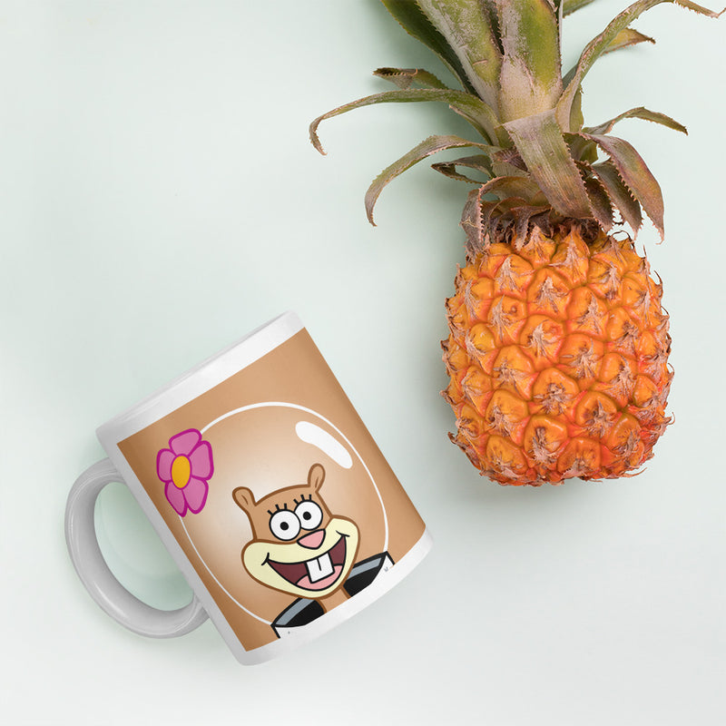 Sandy Big Face 11 oz Mug - SpongeBob SquarePants Official Shop