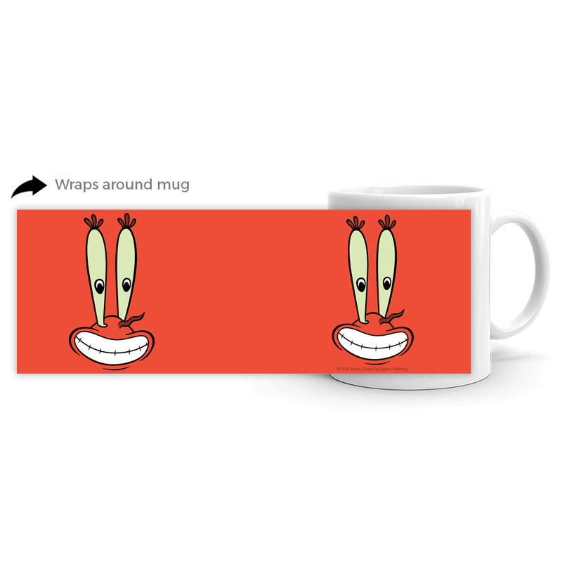 Mr. Krabs Big Face 11 oz Mug