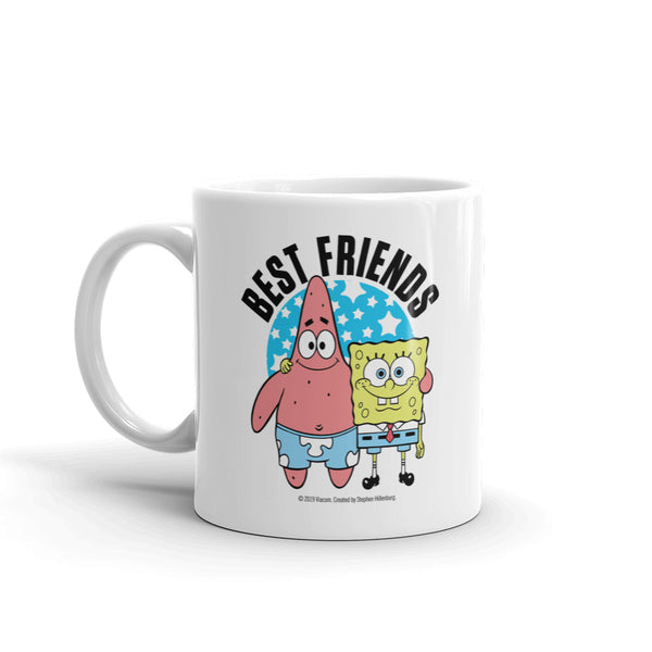 SpongeBob SquarePants Best Friends Personalized 11 oz Mug - SpongeBob SquarePants Official Shop